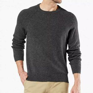 New Dockers  Men's Whistle Patch Crewneck  sweater